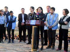 Angelina Jolie Visits Kurdish Refugee Camp