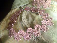 Free Crochet Jewelry Pattern | ... beaded bracelet and necklace in crochet lace crochet pattern as pdf