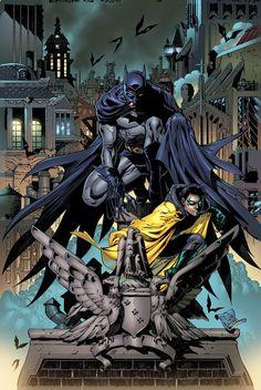 #Batman #And #Robin #Fan #Art. (Batman & Robin) By: Tony S. Daniel. (THE * 5 * STÅR * ÅWARD * OF: * AW YEAH, IT'S MAJOR ÅWESOMENESS!!!™) ÅÅÅ+