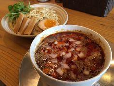 めん奏心mensousinn;紅の辛つけ麺 Akano-Karatukemenn
