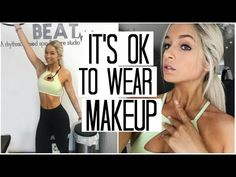Why I Workout Wearing Makeup... | Fitness Vlog & HEALTHY What I Eat in a Day  #circuittraining #CliniqueFit #fitness #fitnessvlog #gymmakeuproutine #healthywhatieatinaday #howtoeathealthy #Makeup #makeupforworkingout #makeuproutine #soulcycle #spin #spinclass #sweatproofmakeup #UltaBeauty #UltaClinique #waterproofmakeup #whatIeatinaday #whyiworkoutwearingmakeup #workout #workoutmakeuproutine