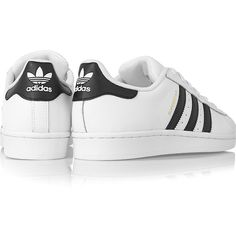 adidas Originals Superstar Foundation leather sneakers, Women's, Size:... (640 VEF) ❤ liked on Polyvore featuring shoes and sneakers