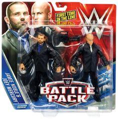 J and J Security (Jamie Noble & Joey Mercury) - WWE Battle Packs 37 Toy Wrestling Action Figures