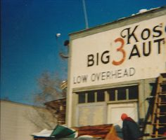The Big 3 building in 1987