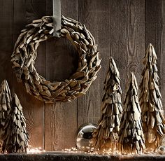 I love the naturalness of this look. Driftwood Wreath