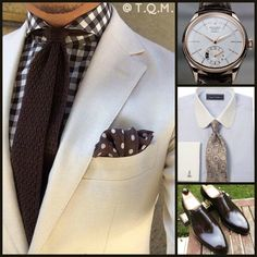 BUSINESS STYLE: Unknown(Suit)-Rolex(Watch)-Paul Fredrick(Shirt Tie Option)-Ascot(Shoes)