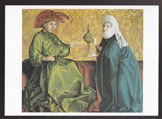 Konrad Witz King Solomon and Queen of Sheba 1434