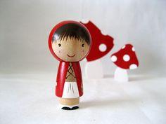 Caperucita Roja va a la muñeca de la abuela por knottingwood