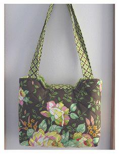 Mod Rose Bucket Bag | by antiquebasketlady