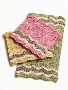 Free Crochet Patterns : Dishcloth Patterns