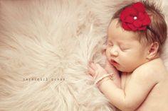 Newborn Baby Girl Photo Prop