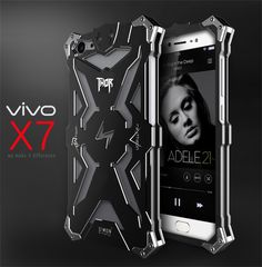 >> Click to Buy << Brand Thor Luxury Heavy Duty Armor Metal Aluminum Mobile Phone Bags For ViVO X7 plus Cover Cases For ViVO X7 / X7 PLUS bag cases #Affiliate