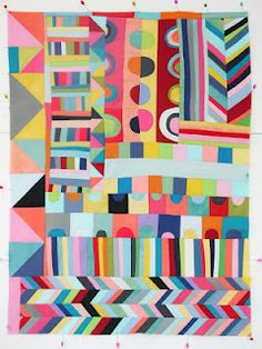 Amazing quilt from Lucie Summers of Summersville: http://blu-shed.blogspot.com/