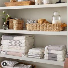 Medium Woven Bath Storage Canister - Hearth & Hand™ With Magnolia : Target Linen Closet Organization, Bathroom Organisation, Storage Canisters, Room Essentials, Bathroom Storage, Bath Towel Storage, Bathroom Ideas, Decluttering, Bath Towels