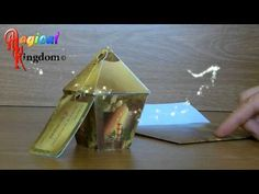 Magical Kingdom 3D Popup Victorian Lantern Christmas Card - YouTube