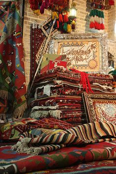 Persian Carpet Vendor