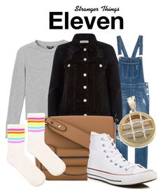 Stranger Things by sparkle1277 on Polyvore featuring polyvore, fashion, style, Monki, River Island, Topshop, Converse, Tila March and clothing