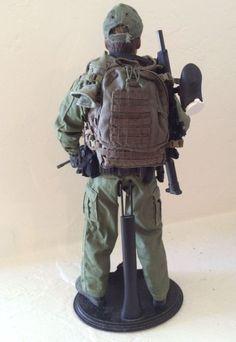 1/6 Scale US Border Patrol Agent Figure custom Hot Toys Kitbash Police