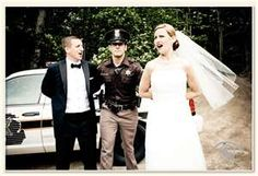 Bring in Law Enforcement....This would be a cute photos with Frost as the best man