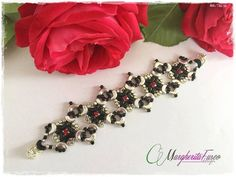 Margherita bracelet tutorial with minos and arcos by 75marghe75
