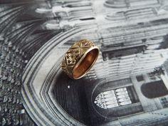 Vintage Ring/Starburst Ring/Star Ring/Gold Band/Gold Ring/Engagement Ring/Wedding Band/Wedding Ring/Size 6/Boho Ring/Bohemian Ring