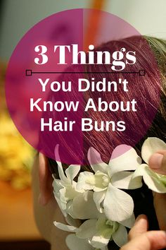 Hairfinity Hair Vitamins Tip: 3 Things You Didn't Know About Hair Buns. CLICK HERE to read the hair tips http://hairfinity.com/blog/can-too-much-bunning-be-harmful/ #GrowHairLongerFaster #ThickerHair