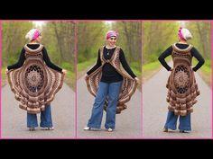 Crochet Tutorial: Spring Sun Mandala Vest - YouTube