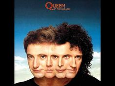 The Miracle is the thirteenth studio album by the British rock band Queen, released on 22 May 1989 by Parlophone Records in the United King. Queen Album Covers, Rock Album Covers, Classic Album Covers, Music Album Covers, Lps, Albums Queen, Queen Banda, Queen The Miracle, Rock Vintage