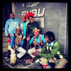 GA Creative Brands get into Heritage Day spirit! #fubuafrica #cuttyafrica#jonathandafrica #gacreativebrands  www.fubu.co.za
