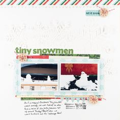 Layout by Melissa Sinson #scrapbooking