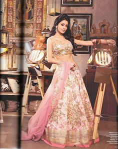 Lehnga from Anushree Reddy