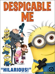 despicable me movie cover | Despicable Me - Movie - NTSC-U (North America)