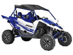 New 2016 Yamaha YXZ1000R Racing Blue/White ATVs For Sale in Ohio. 2016 Yamaha YXZ1000R Racing Blue/White, Includes all rebaes/incentives. No hidden charges, just add tax/title. The YXZ1000R is proof why Yamaha is the leader in motorsports technology and design. A 998 cc inline triple, massive FOX RC2 suspension, pure sport chassis, 4-wheel disc brakes, electric power steering, On-Command drive selection, and 5-speed sequential shift manual transmission make this a side by side for the…