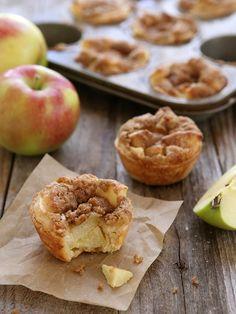 Mini Sour Cream Apple Pies