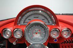 fast shiny objects — The 1960 DiDia 150 custom-designed handmade car. Old Corvette, Chevrolet Corvette, Chrysler Saratoga, Automobile, Car Ornaments, Us Cars, Dashboards, Vintage Cars, Cool Cars
