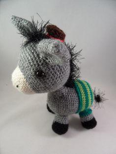 Cro crochet, Eduardo the Donkey, awwwwwwwwwww