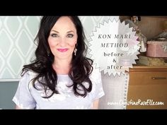 My KonMari Method by Marie Kondo Declutter & Organzing Home Makeover Before and After - YouTube