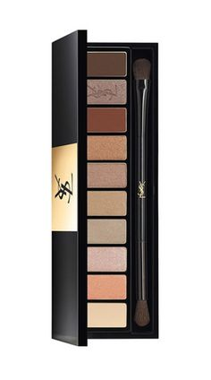 YSL Eyeshadow Palette ; Love this, great for a daytime eye into evening just by adding a darker shade in the crease or easily create a quick smokey eye, pick 1 of the darker shades & apply to top and bottom lash line, slightly pull up and out at outer corner of top lash line.