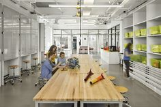 Germantown Academy, Innovation Lab and Makerspace Innovation Lab, 21st Century Learning, Computer Lab, Green Rooms, Learning Environments, Design Lab, Private School, Common Area, Architect Design