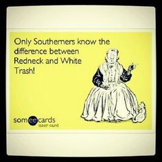 Only a true southerner knows....