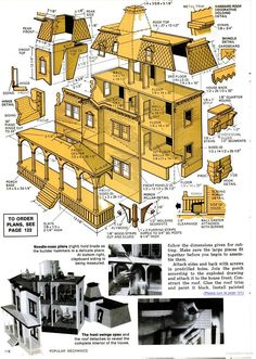Popular Mechanics - Google Books Planos de edificio a escala