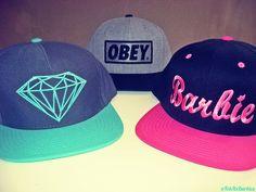 obey  diamond  barbie  snapbacks  logos  symbol  brandhats Snapback Hats 1dd409e831b1