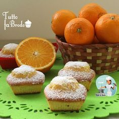 MUFFIN FRULLATI ALL'ARANCIA Cupcakes, Cupcake Cakes, My Recipes, Sweet Recipes, Sweet Cooking, Oat Muffins, Plum Cake, Sweets Cake, Food And Drink