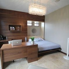 contemporary bedroom by Jerry Bussanmas