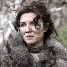 Catelyn Stark after the ambush on the road to the Eyrie.
