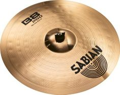 """Sabian 31806B B8 Pro  18-inch Crash Cymbal by Sabian. $109.00. Quick response and tight, bright, focused tone add up to a cymbal that delivers cutting accents in spades. The SABIAN 18"""" B8 Pro Thin Crash is the real deal in every sense. If speed, power and aggression describe the way you play, B8 Pro may be the cymbal series for you. With new larger hammering pattern and improved bell design, B8 Pro rocks harder than ever. Designed and crafted by the SABIAN Vault ..."""