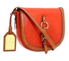 Ralph Lauren Saddle Bag