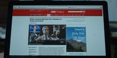CNN website in HOUSE OF CARDS: CHAPTER 2 (2013) @cnni