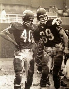 Chicago Bears Gayle Sayers & Mike Ditka