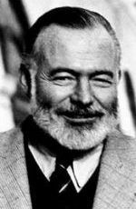 Ernest Hemingway portrait on his spiritual personality profile #ernesthemingway